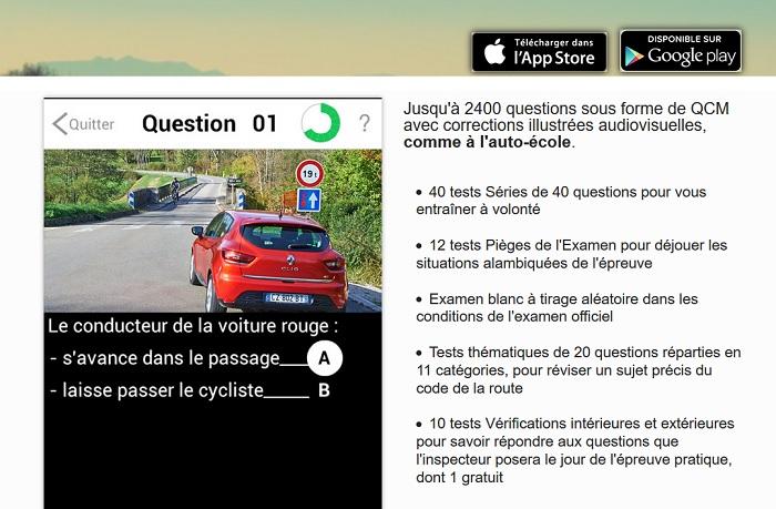 Télécharger votre appli code de la route gratuitement