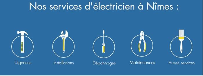 Pour tous travaux d'électricité à Nimes