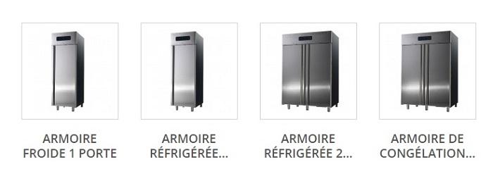 Acheter pas cher une armoire froide