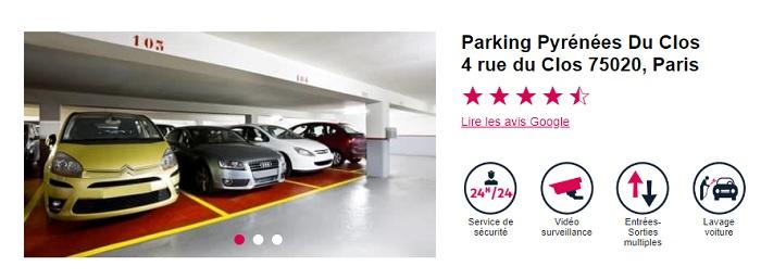 Pour une location de parking Opéra