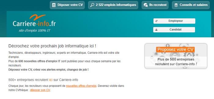 Emploi: salaire chef de projet informatique