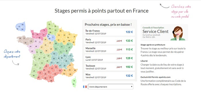 Réserver un stage de récupération de points Nantes