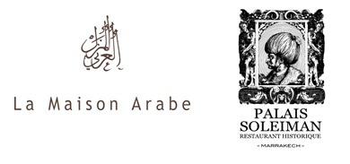 Une Saint Valentin à Marrakech... à La Maison Arabe et au Palais Soleiman.