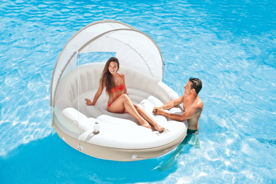 INTEX - Lounge Caraïbes - Farniente à la surface de l'eau