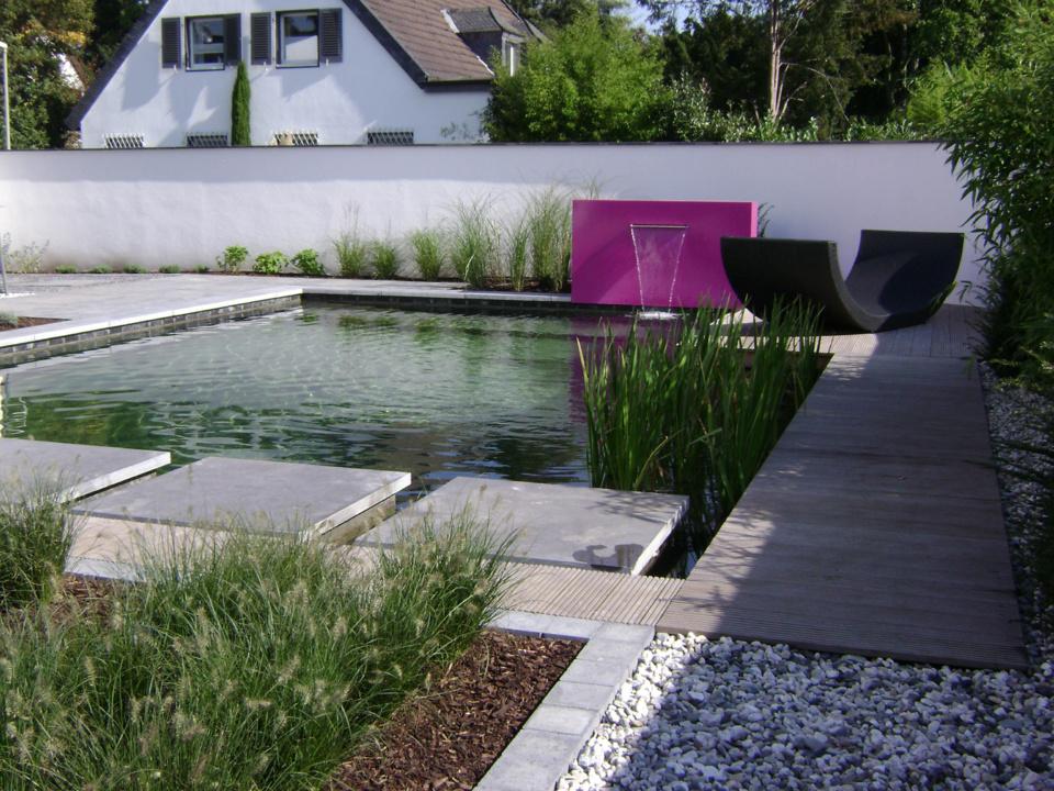 Bassins et lames d'eau SO GARDEN - Modernes ou rustiques