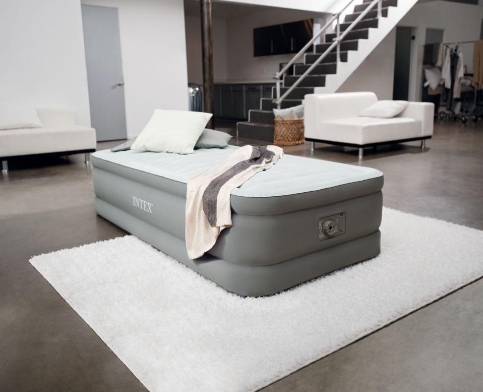 Nouveautés 2015 - Matelas Prem'Air Intex – Un sommeil de qualité grâce à la technologie brevetée Fiber Tech