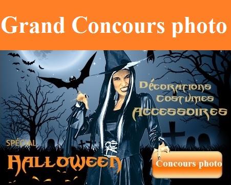 Grand jeu concours photo spécial Halloween