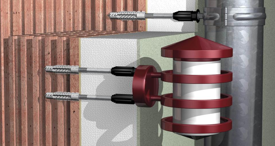 Chevilles FID et Thermax - Gamme de fixations fischer pour ITE : des solutions d'ancrages fiables, sans ponts thermiques, pour réaliser plus d'économies d'énergie