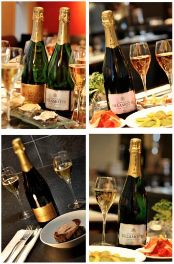 Champagne Delamotte à la coupe décembre 2015/janvier 2016