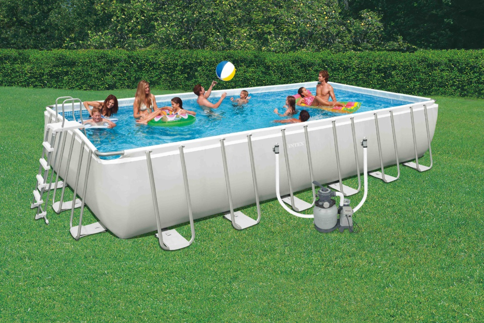 PISCINES ULTRA SILVER INTEX