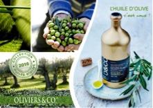 Oliviers&Co.  voit 5 de ses plus prestigieux producteurs d'huiles récompensés  pour la récolte 2016 !
