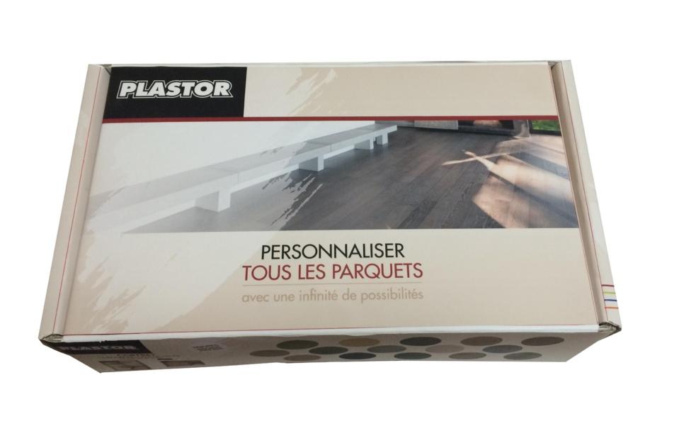 NOUVEAU COFFRET D'ECHANTILLONS COLOUR FLOORS TEINTE PLASTOR - Un outil pour personnaliser la couleur des parquets