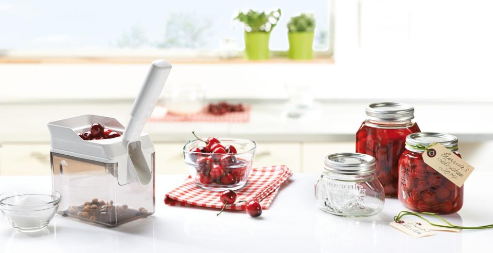 Dénoyauteur à cerises Cherrymat - Des recettes fruitées en toute simplicité