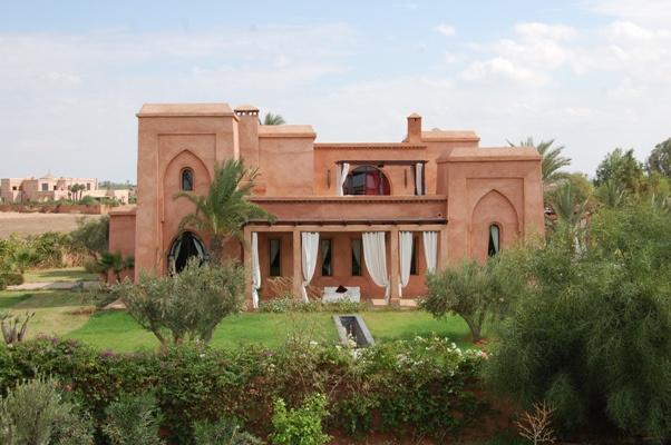 Des villas comme nulle part ailleurs à Marrakech