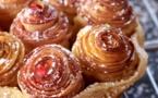 Tarte aux pommes, caramel au beurre salé par le Chef Alain Passard