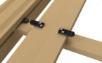 Nouveaux clips Cobra D-Lock Fiberdeck - Une fixation invisible et universelle des lames de terrasse bois ou composite